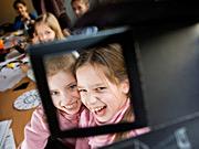 Kindergeburtstag in der Camera Obscura in Mülheim/Ruhr