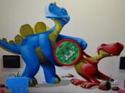 Indoorspielplatz Dino Dschungel