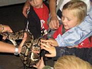 Kindergeburtstag im Tiergarten Worms