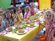 Kindergeburtstag auf dem Indoorspielplatz Krümelland