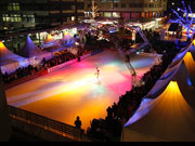 © City on ice in Pforzheim
