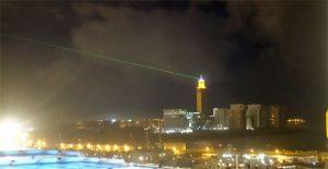 Casablanca bei Nacht