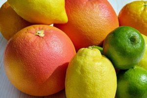 Nahrungsergänzungsmittel oder Zitrusfruechte