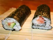 Maki Sushi rollen