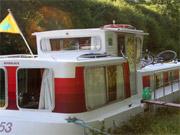 Welchen Kanal in Frankreich mit dem Hausboot befahren?