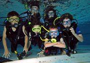 Kindergeburtstag im Aquanaut Tauchzentrum Frankfurt
