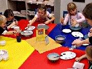 Kindergeburtstag im Mal-Werk in Mainz
