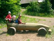 Spielplatz im Pfisterwald bei St. Märgen