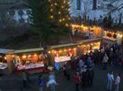 Weihnachtsmarkt in Oberammergau