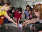 Kindergeburtstag auf dem Museumsschiff Mannheim