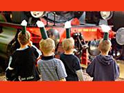 Kindergeburtstag im DB Museum