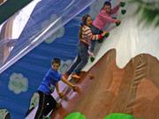Kindergeburtstag auf dem Indoorspielplatz Croco Island