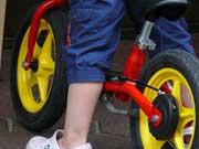 Sicheres Fahrrad für Kinder