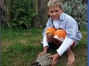 Kindergeburtstag im Reptilien-Zoo Scheidegg