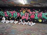 Graffiti-Kindergeburtstag in Stuttgart