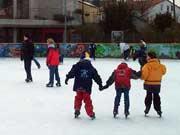 Eisbahn im Freizeitzentrum Roßdorf