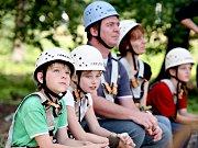Kindergeburtstag im Hochseilgarten Monkeyman
