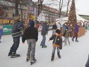 Kindergeburtstag auf der Eisbahn