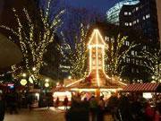Weihnachtsmarkt in der Winterwelt am Potsdamer Platz