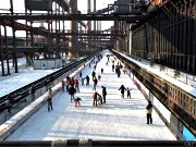 Eisbahn Kokerei Zollverein in Essen
