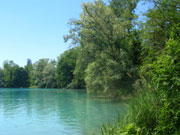 Baggersee in Burkheim