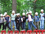 Kindergeburtstag im Seilgarten Hannover