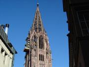 Aufstieg zum Freiburger Münsterturm