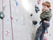 rocks kletterzentrum: Klettern in der Kletterhalle rocks in Jena können auch schon Kinder