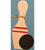 bowling spielen oder kegeln am kindergeburtstag - familienkultour, Einladung