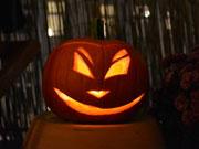 Halloween-Burgspektakel