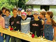 Kindergeburtstag im Freilichtmuseum Vogtsbauernhof