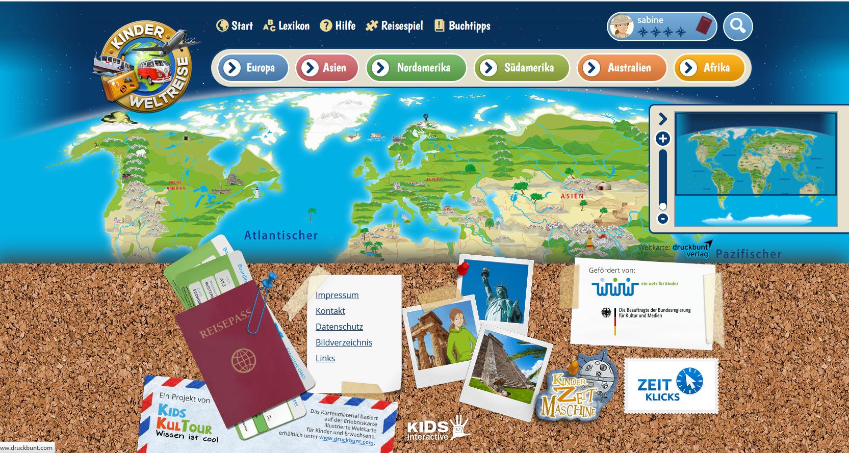 Geografie für Kinder: Mit der Kinderweltreise die Welt ...