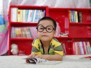 Brille beim Kind