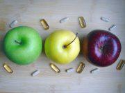 Pillen und Äpfel