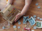 Kinder und Taschengeld