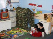 Kleine Kinderzimmer clever einrichten