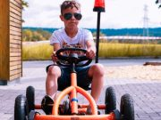 Kindergeburtstag mit mobiler Gokartbahn