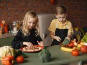 Gemüseessen Kinder